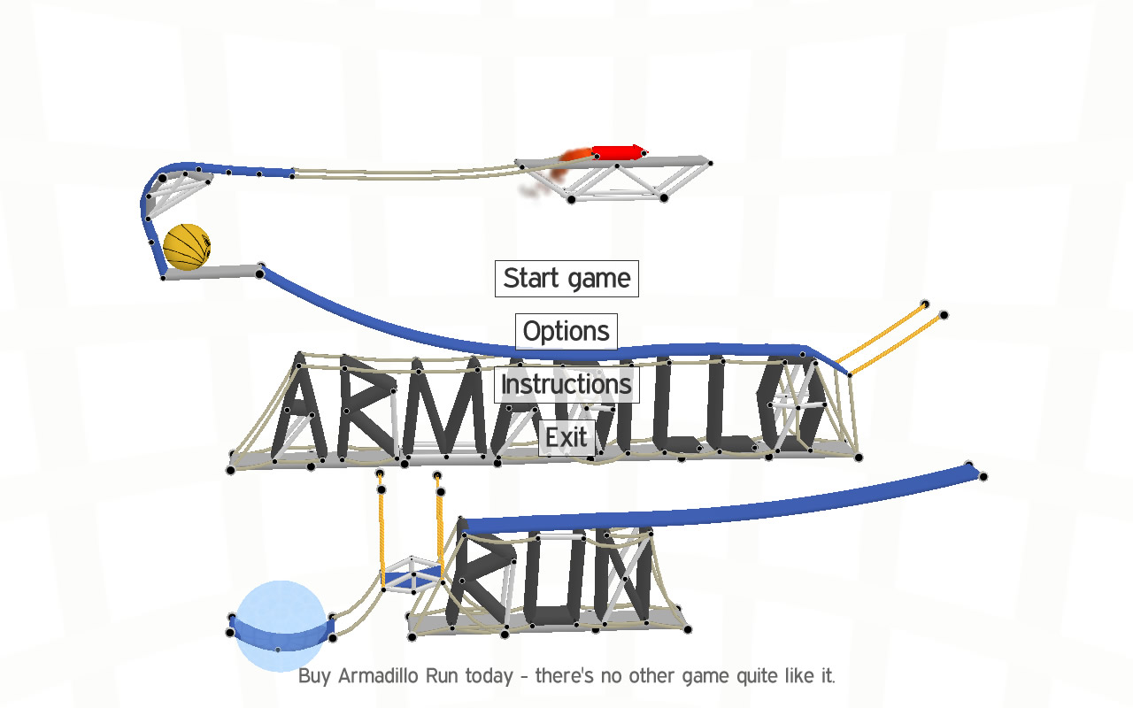 Armadillo Run Screenshot