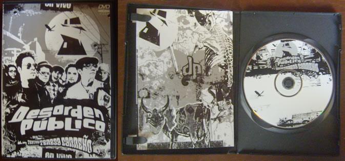 Portada DVD DP 18 años