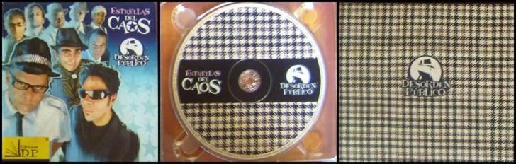 Estrellas del Caos - DP CD