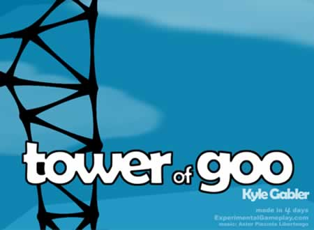 Tower of Goo: Screenshot
